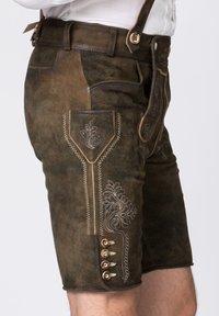Stockerpoint - BEPPO - Shorts - brown/light brown - 3