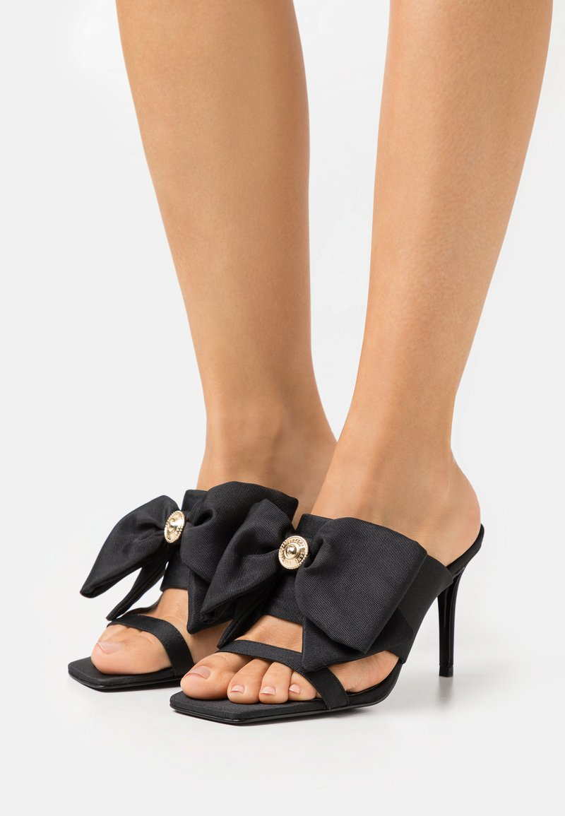 Versace Jeans Couture - Heeled mules - black