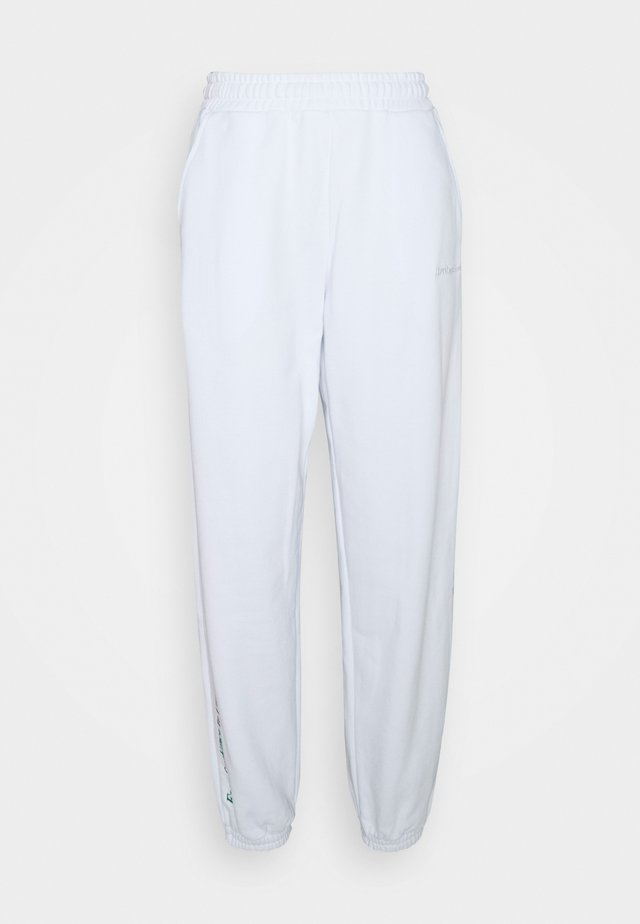 CASABLANCA PANTS - Verryttelyhousut - white