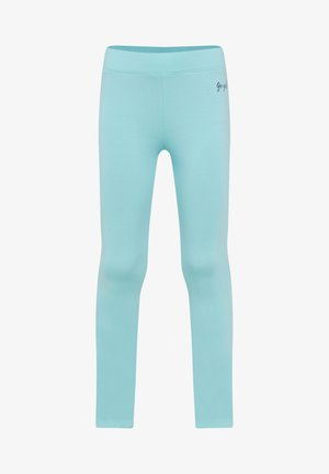 MEISJES SKINNY FIT - Leggings - Trousers - turquoise