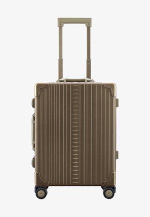Wheeled suitcase - bronze