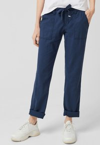 Q/S designed by - Trousers - navy - 0