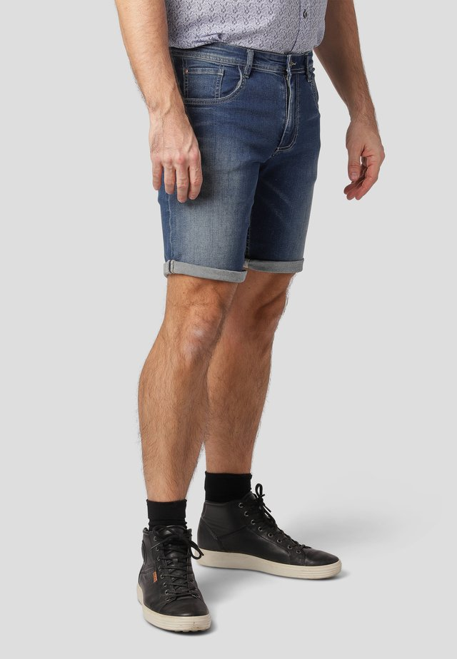 Denim shorts - pacific blue used