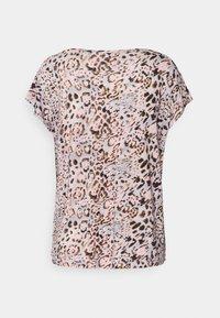 Cream - Print T-shirt - pink - 1