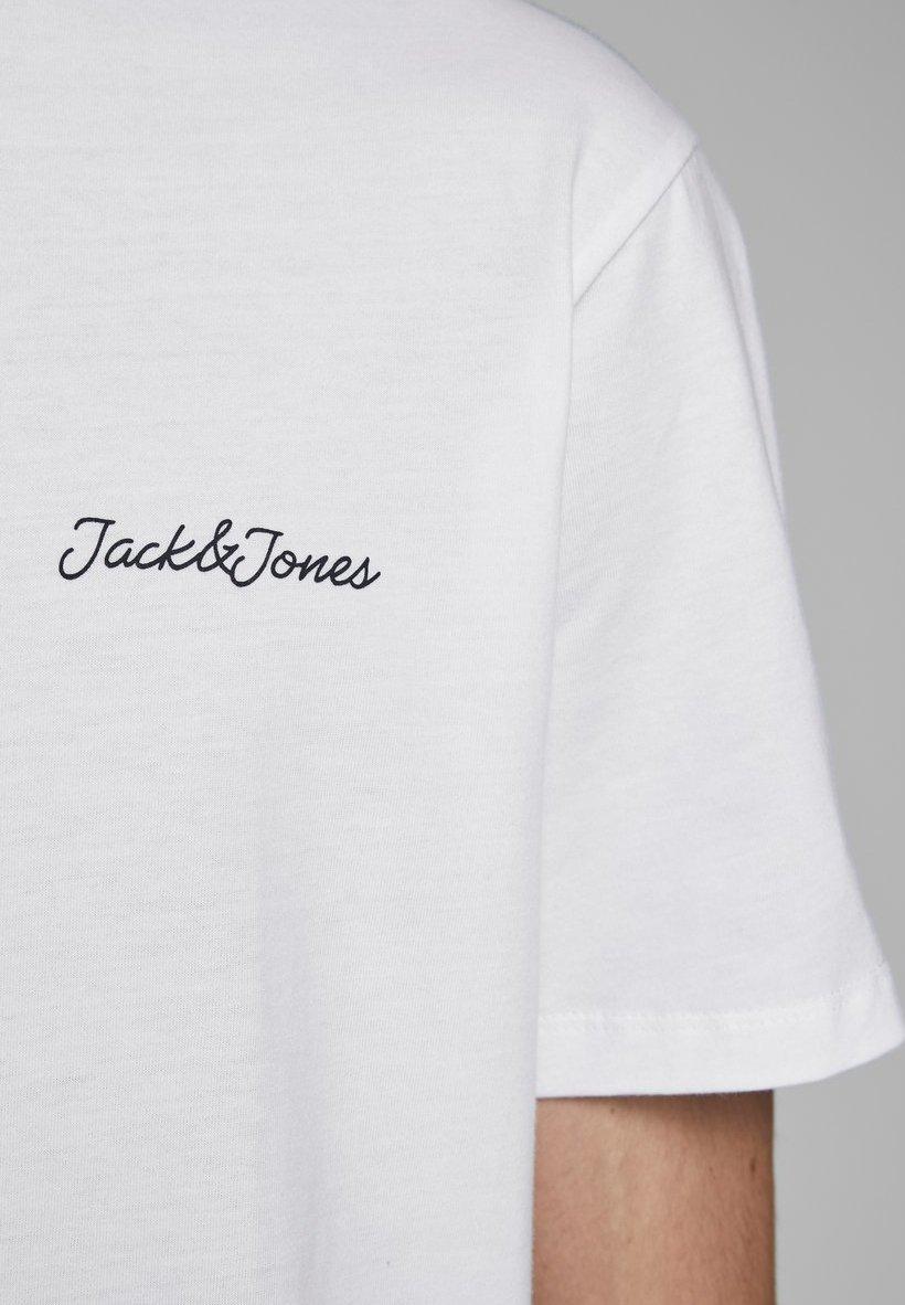 Jack & Jones Print T-shirt - white H83uW