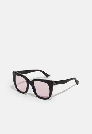 BLUE & BEYOND - BLUE LIGHT - PHOTOCHROMIC LENS - Okulary przeciwsłoneczne - black/black/pink