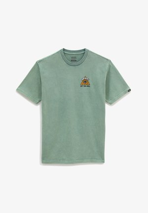 MN BEYOND THE VALLEY ZL S/S - T-shirt print - waterfall