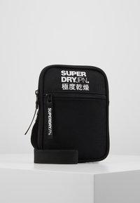 Superdry - SPORT POUCH - Across body bag - black - 0