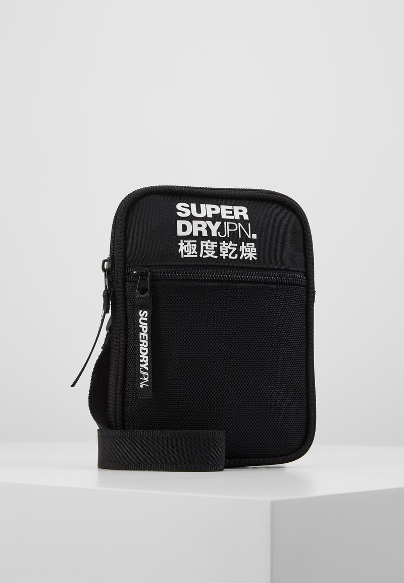 Superdry - SPORT POUCH - Across body bag - black