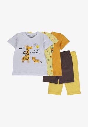 SETS - Leggings - Trousers - yellow