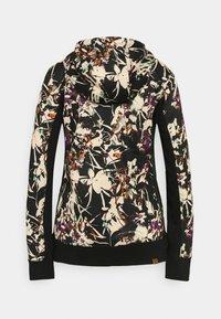 Roxy - FROST PRINTED - Zip-up sweatshirt - true black - 1