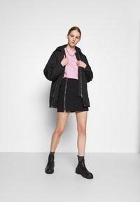 Weekday - BYRON COACH JACKET - Short coat - black - 1