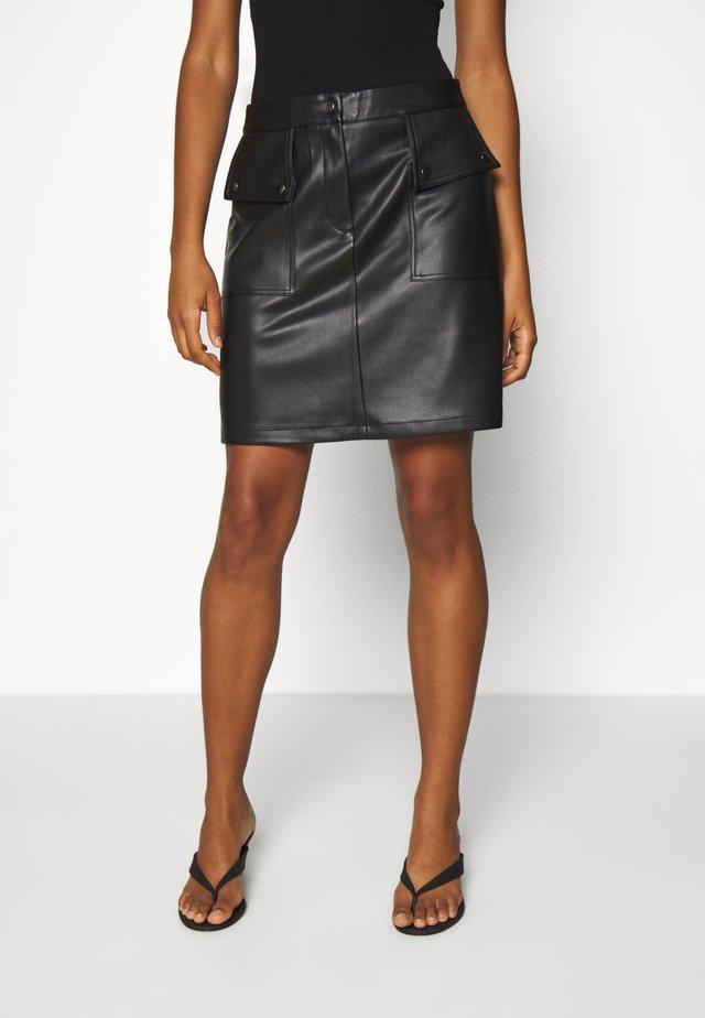 VMPAULINA  - Spódnica mini - black
