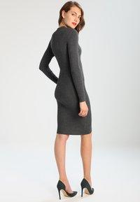 Zalando Essentials - Shift dress - dark grey mélange - 3