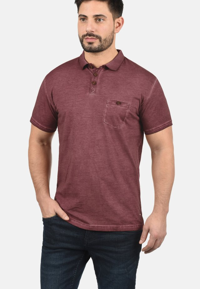 TERMANN - Polo - wine red