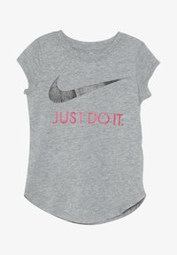 Nike Sportswear - TEE - Camiseta estampada - dark grey heather - 2