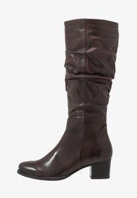 Caprice - Vysoká obuv - dark brown - 1