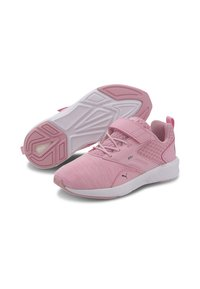 Puma - NRGY COMET PRESCHOOL UNISEX - Trainers - pale pink-black-white - 2