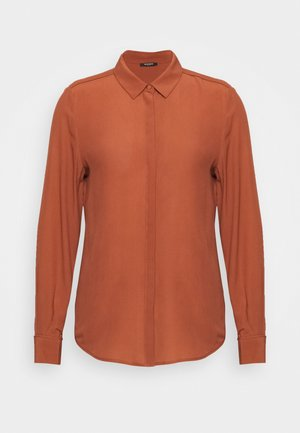 LILLIE CORINNE  - Button-down blouse - cinnamon