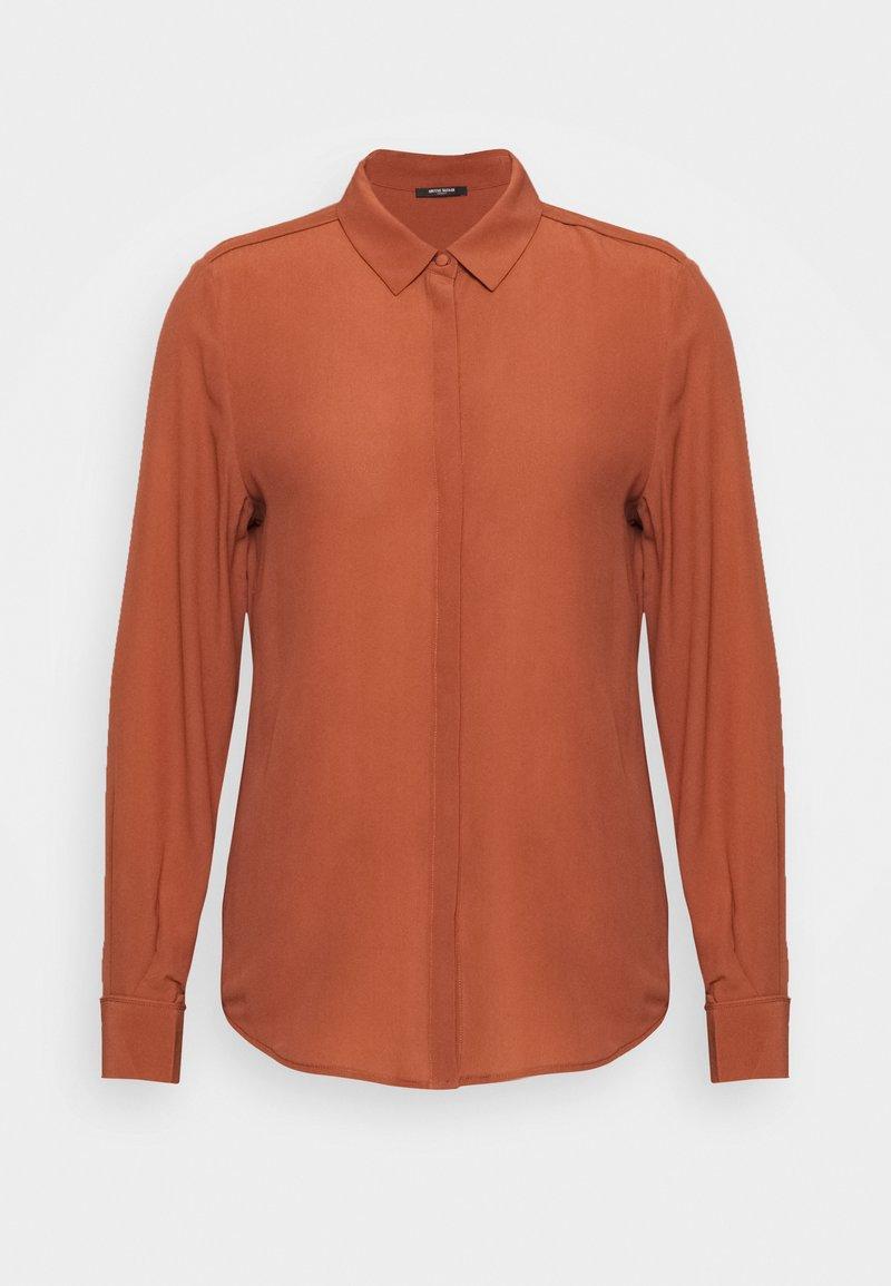 Bruuns Bazaar - LILLIE CORINNE  - Camicia - cinnamon