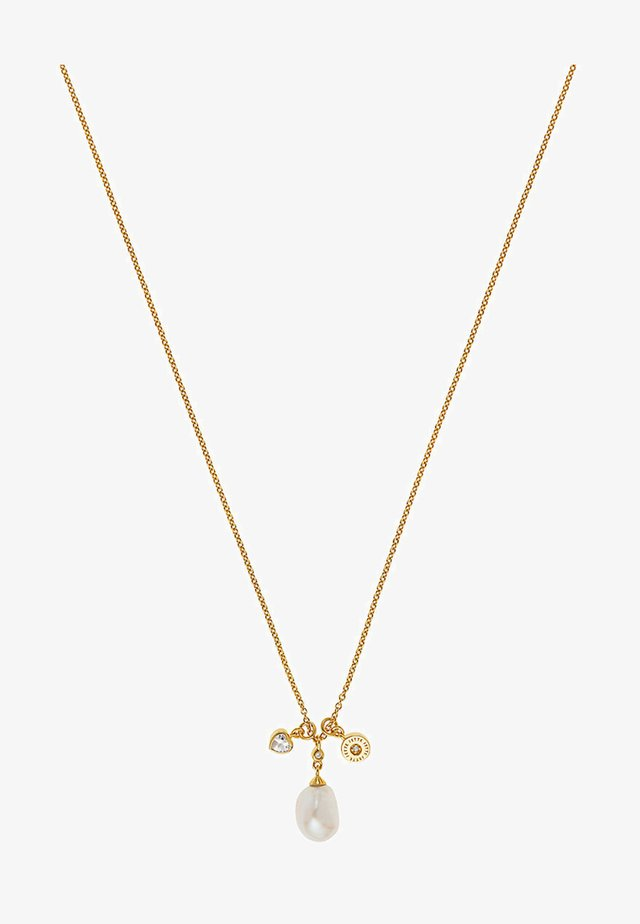 Necklace - yellow gold-coloured