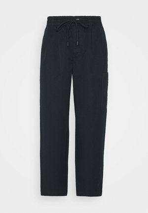 THE WOVEN JOGGPANTS - Trousers - scandinavian blue