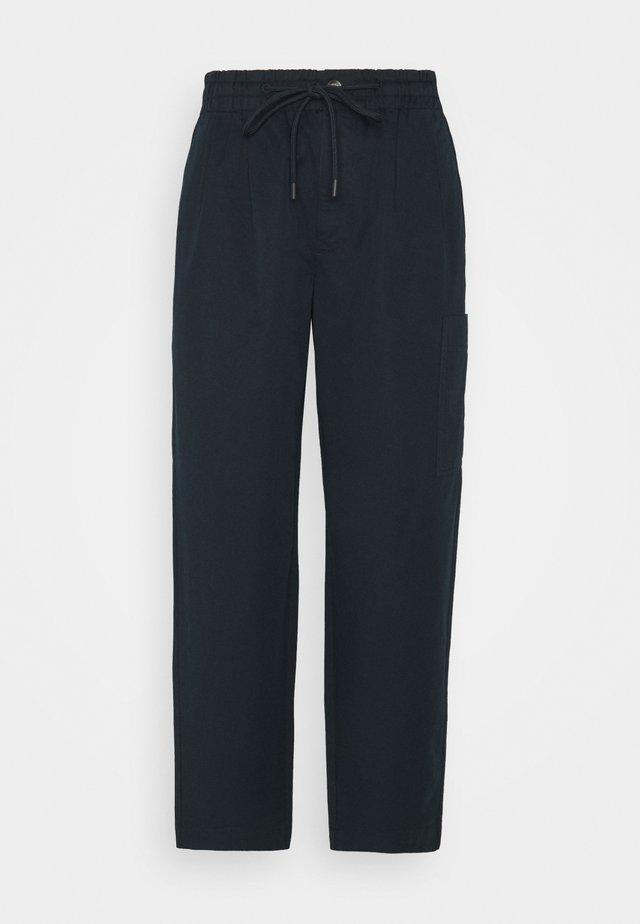 THE WOVEN JOGGPANTS - Pantaloni - scandinavian blue