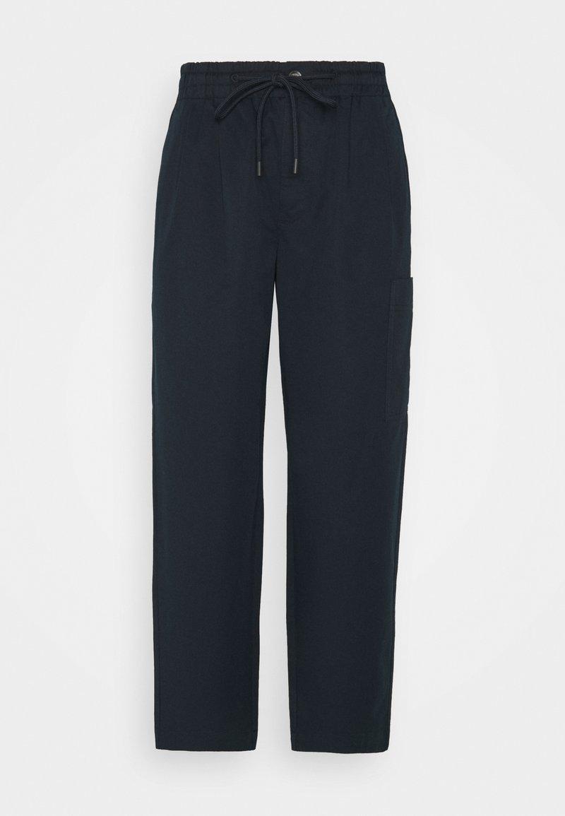 Marc O'Polo DENIM - THE WOVEN JOGGPANTS - Trousers - scandinavian blue