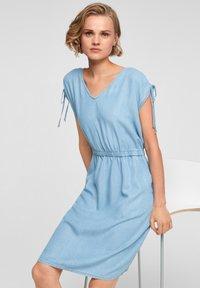 s.Oliver - Denim dress - blue lagoon - 5