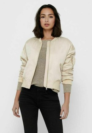 SPRING  - Bomber Jacket - frosted almond