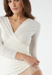 Intimissimi - TOP AUS MODAL UND KASCHMIR - Long sleeved top - vaniglia - 1