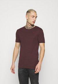 G-Star - BASE 2 PACK - Basic T-shirt - dark fig - 1