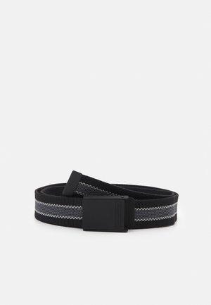 WEBBING BELT - Belt - black