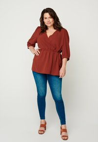 Zizzi - Blouse - dark orange - 1