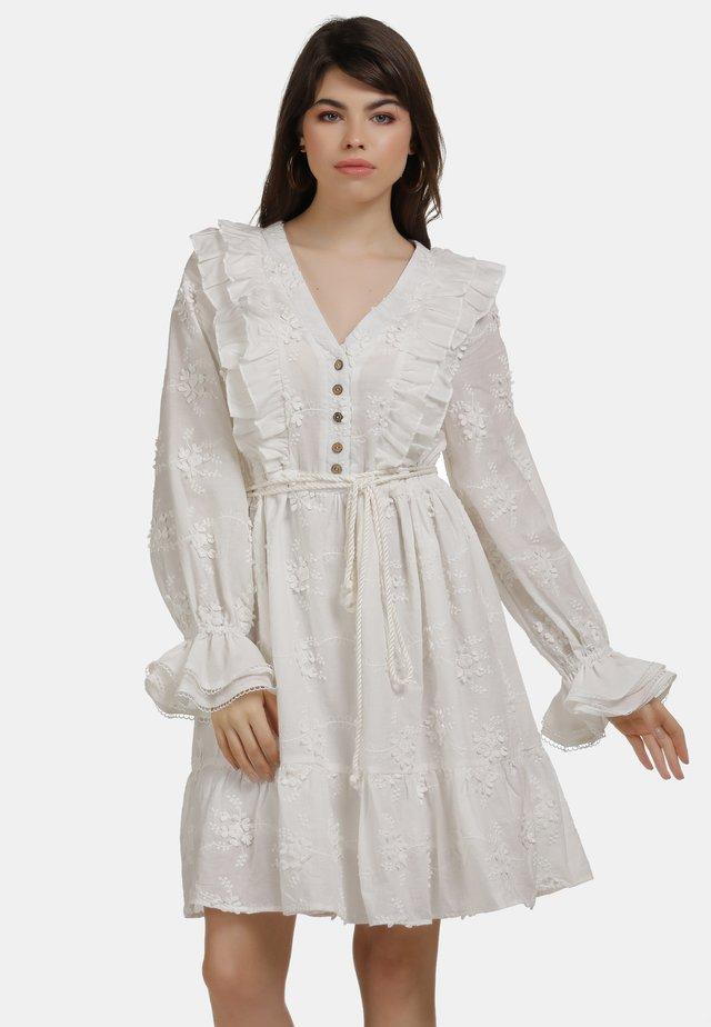 Sukienka letnia - weiss