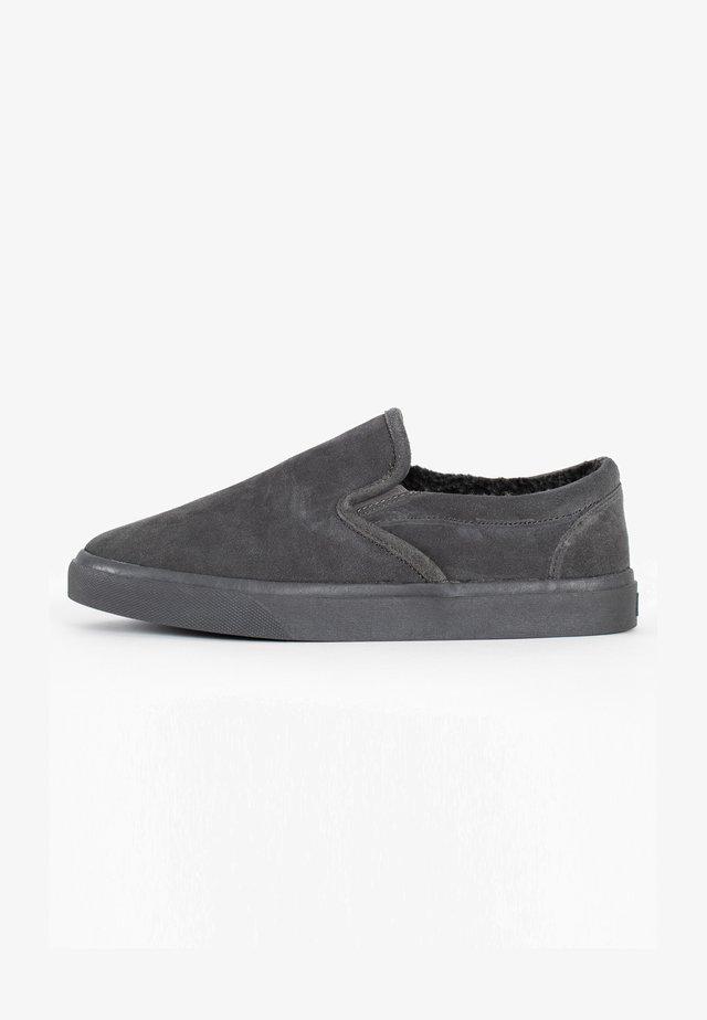 ALDEN - Kapcie - charcoal grey