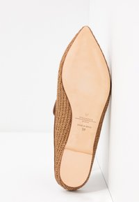 WEEKEND MaxMara - OVIDIO - Ciabattine - taback - 6
