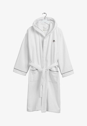ARCHIVE SHIELD ROBE - Dressing gown - weiß
