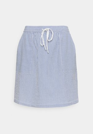 ELASTIC INSIDE WAIST - A-line skirt - intense blue