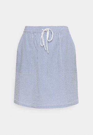 ELASTIC INSIDE WAIST - Áčková sukně - intense blue