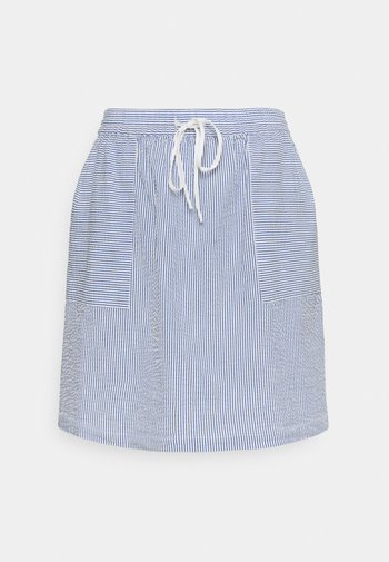 ELASTIC INSIDE WAIST - A-line skirt - intense blue