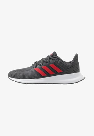 RUNFALCON - Scarpe running neutre - grey six/scarlet/footwear white