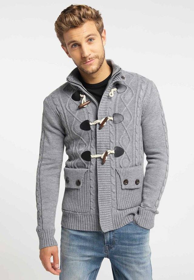 Vest - mottled light grey