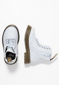 Dr. Martens - PASCAL MONO J - Lace-up ankle boots - bluemoon - 0