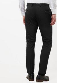 Next - Pantaloni eleganti - mottled black - 0