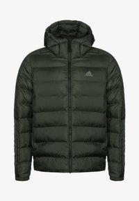 adidas Performance - 3 STRIPES OUTDOOR MIDWEIGHT JACKET - Veste d'hiver - dark green - 0
