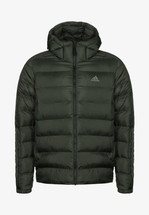 3 STRIPES OUTDOOR MIDWEIGHT JACKET - Chaqueta de invierno - dark green