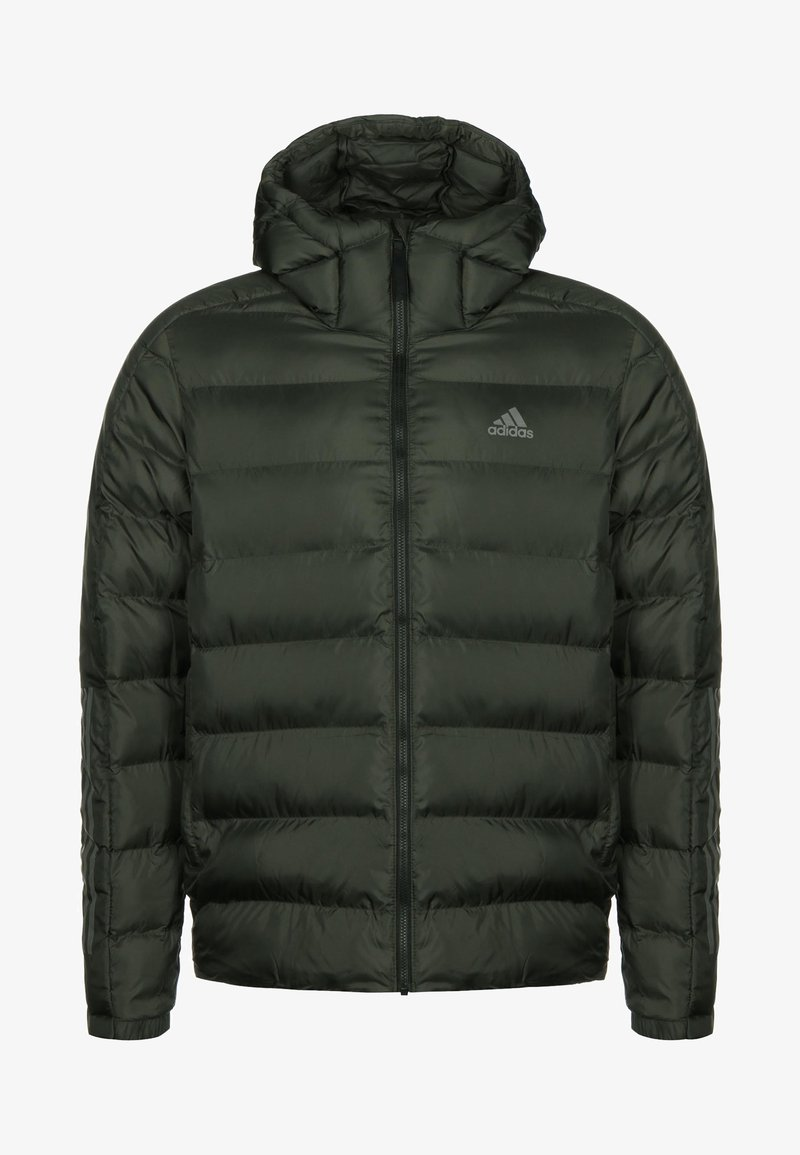 adidas Performance - 3 STRIPES OUTDOOR MIDWEIGHT JACKET - Veste d'hiver - dark green