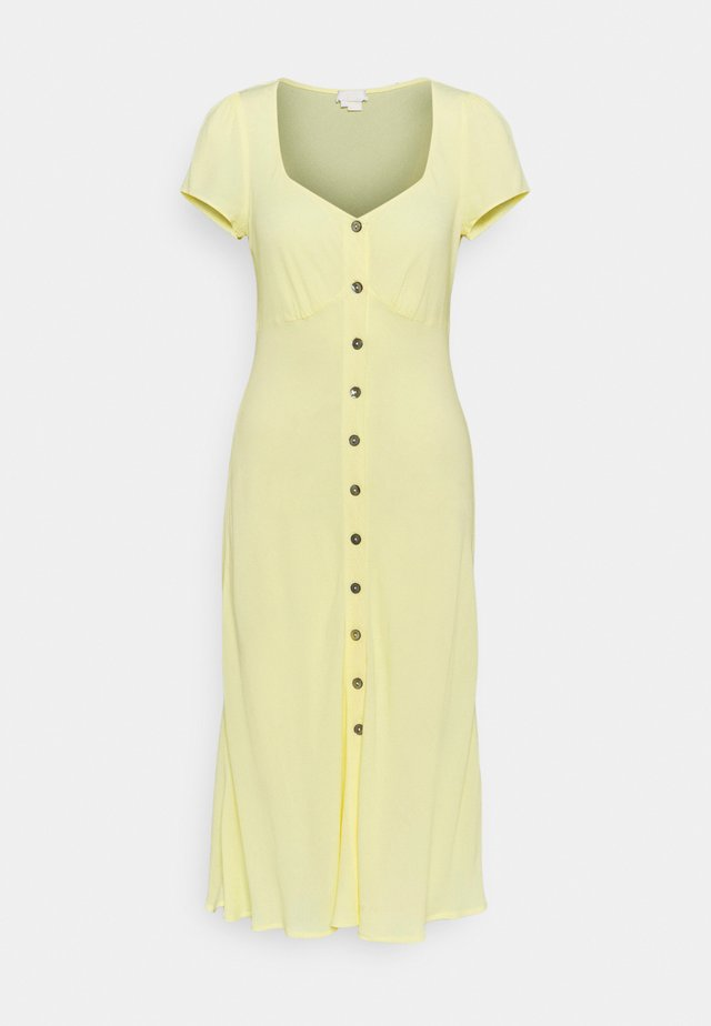 LEONA DRESS - Blousejurk - lemon