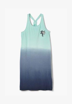 Jersey dress - dark blue gradient